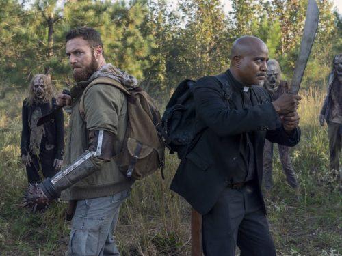Walking Dead numero 10, le foto